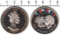Изображение Монеты Фолклендские острова 50 пенсов 2002 Медно-никель UNC