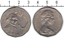 Изображение Мелочь Австралия 50 центов 1970 Медно-никель XF Джеймс Кук