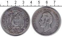Изображение Монеты Эквадор 1 сукре 1889 Серебро  KM# 53.1