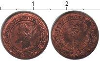 Изображение Монеты Цейлон 1/4 цента 1898 Медь UNC