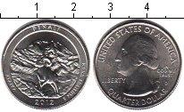 Изображение Мелочь США 1/4 доллара 2012 Медно-никель XF