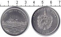Изображение Мелочь Куба 1 песо 1992 Медно-никель UNC-
