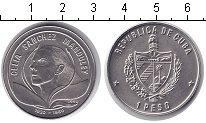 Изображение Мелочь Куба 1 песо 1990 Медно-никель UNC- Силия Санчес Mandule