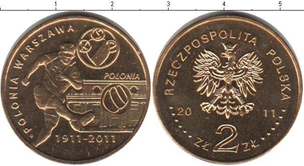 Картинка Мелочь Польша 2 злотых  2011