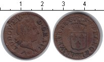 Изображение Монеты Франция 1 лиард 1773 Медь  Людовик 15