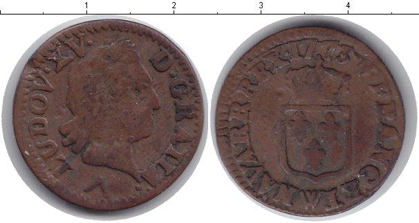 Картинка Монеты Франция 1 лиард Медь 1773