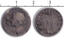 Изображение Монеты Великобритания 3 пенса 1687 Серебро  Яков II