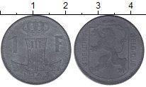 Изображение Мелочь Бельгия 1 франк 1943 Цинк XF BELGIQUE-BELGIE