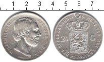 Изображение Монеты Нидерланды 2 1/2 гульдена 1866 Серебро  Виллем III
