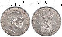 Изображение Монеты Нидерланды 2 1/2 гульдена 1870 Серебро