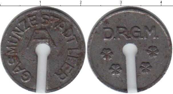 Картинка Монеты Веймарская республика жетон Железо 0