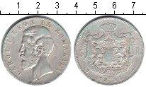 Изображение Монеты Румыния 5 лей 1883 Серебро XF Кароль I