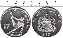 Изображение Монеты Самоа 10 тала 1993 Серебро Proof- Олимпийские игры 199