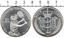 Изображение Монеты Ниуэ 50 долларов 1987 Серебро Proof- Стеффи Граф