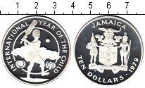 Изображение Монеты Ямайка 10 долларов 1979 Серебро Proof-