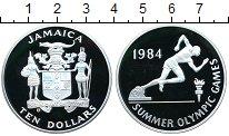 Изображение Монеты Ямайка 10 долларов 1984 Серебро Proof-