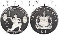 Изображение Монеты Самоа 1 тала 1982 Серебро Proof- Олимпийские игры