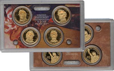 Изображение Подарочные монеты США Президенты США 2010  Proof Подарочный набор ``П