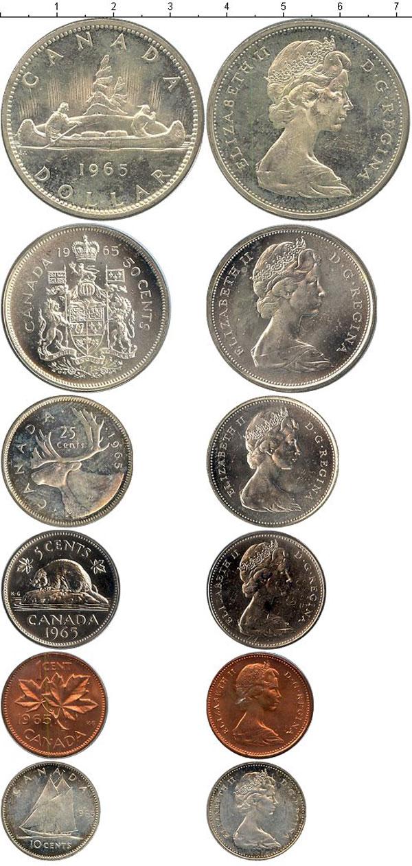 Картинка Подарочные монеты Канада Канада-1965  1965