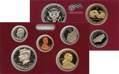 Изображение Подарочные наборы США Пруф-сет 2010 года 2010  Proof- Подарочный набор пру