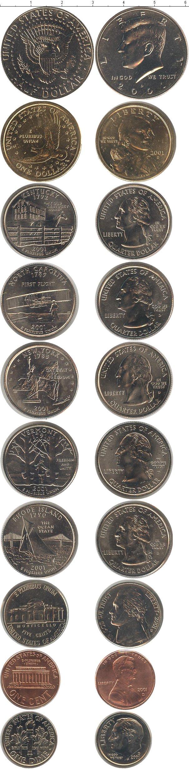 Картинка Подарочные наборы США США 2001  2001