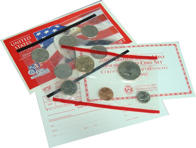 Изображение Подарочные наборы США США 2003 2003  UNC- Годовой набор монет.