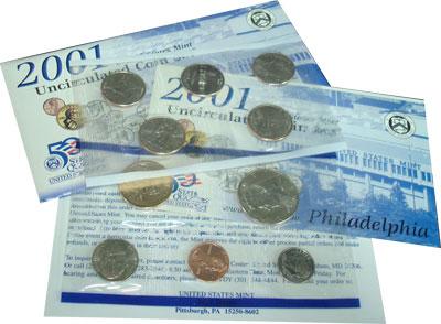 Изображение Подарочные наборы США США 2001 2001  UNC-