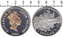 Изображение Монеты Острова Кука 1 доллар 2003 Серебро Proof-