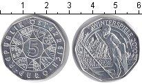 Изображение Мелочь Австрия 5 евро 2010 Серебро UNC-