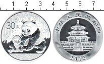 Изображение Мелочь Китай Монетовидный жетон 2012 Посеребрение Proof- Панда