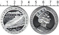 Изображение Монеты Гибралтар 1 крона 1993 Серебро Proof- `Серия ``Военные кор