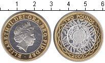 Изображение Монеты Великобритания 2 фунта 2000 Биметалл Proof- Елизавета II