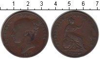 Изображение Монеты Великобритания 1 пенни 1858 Медь