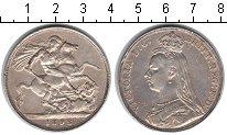 Изображение Монеты Великобритания 1 крона 1892 Серебро XF