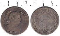 Изображение Монеты Великобритания 1/2 кроны 1670 Серебро
