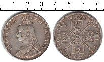 Изображение Монеты Великобритания 1 флорин 1890 Серебро XF Виктория