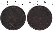 Изображение Монеты Остров Мэн 1 пенни 1786 Медь VF