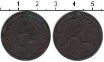 Изображение Монеты Остров Мэн 1/2 пенни 1786 Медь XF Георг III