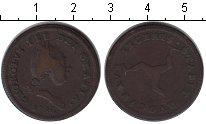 Изображение Монеты Остров Мэн 1/2 пенни 1786 Медь VF