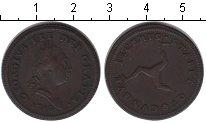 Изображение Монеты Остров Мэн 1/2 пенни 1786 Медь VF Георг III