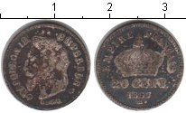 Изображение Монеты Франция 20 сентесим 1867 Серебро VF