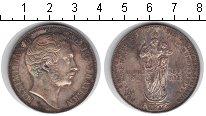 Изображение Монеты Бавария 2 гульдена 1855 Серебро XF Восстановление Колон