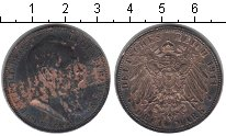 Изображение Монеты Бавария 3 марки 1911 Серебро VF