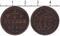 Изображение Монеты Юлих-Берг 1/4 стюбера 1783 Медь VF РМ