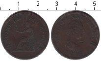 Изображение Монеты Великобритания 1/2 пенни 1815 Медь VF токен