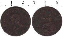 Изображение Монеты Новая Скотия 1/2 пенни 1814 Медь VF токен