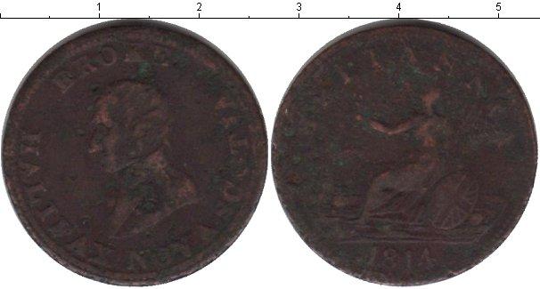Картинка Монеты Новая Скотия 1/2 пенни Медь 1814