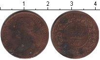 Изображение Монеты Новая Скотия 1/2 цента 1861 Медь VF Виктория