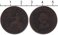Изображение Монеты Новая Скотия 1/2 пенни 0 Медь VF