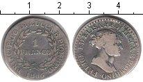 Монета Лукка 1 франко Серебро 1806 XF фото